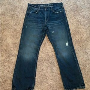 AMERICAN EAGLE Men's 34/32 Bootcut Jeans